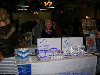 carole's stand at the granary market