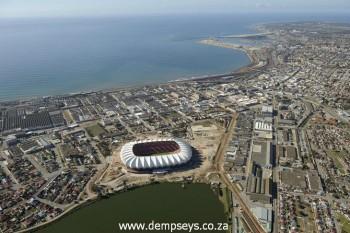 Nelson Mandela Bay Stadium. ( not taken by Dempsey's GH)