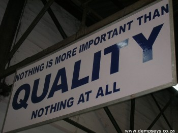 quality throughout hinterveld