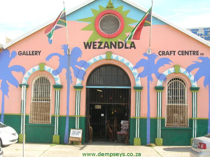 bright entrance to wezandla