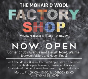 mohair and wool factory shop, walmer