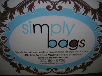 wallets, travel bags and backpacks too at simply bags