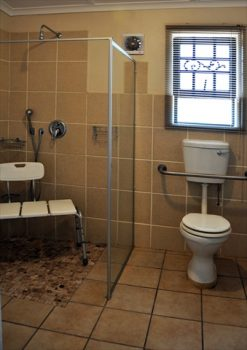 roll in en suite shower family room no. 2