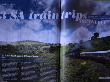 3 sa train trips you'll love, getaway magazine march 2018